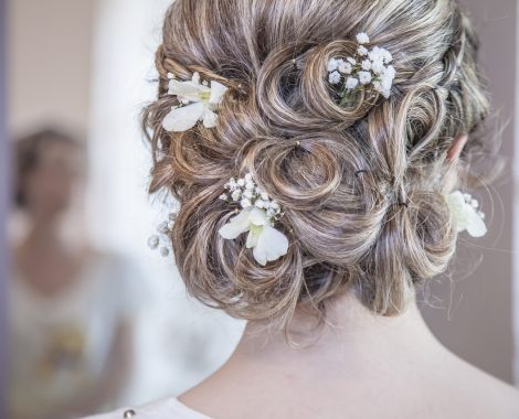 wedding hairstyle mallorca